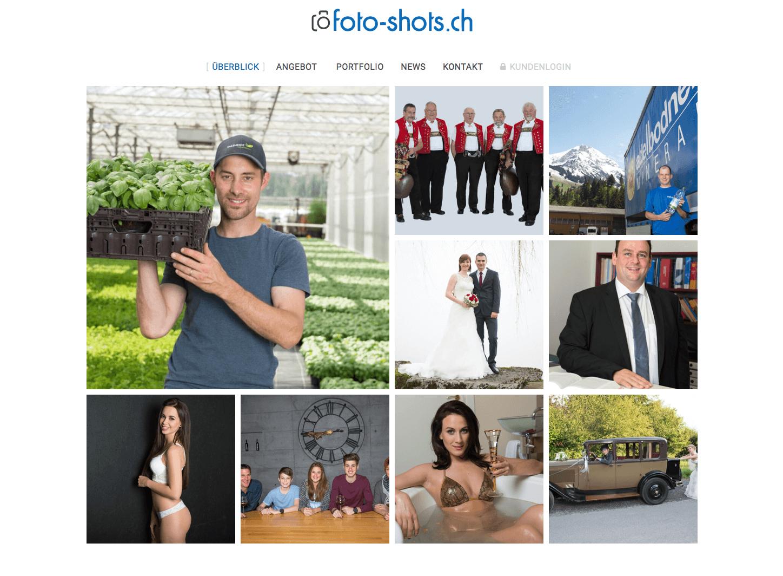 foto-shots.ch strahlt in neuem Glanz!